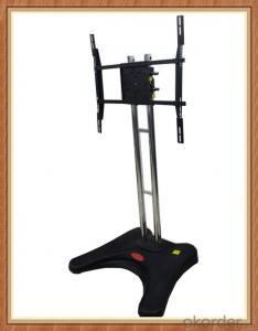 Mobile Plasma TV Stand TV cart with wheel