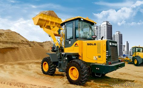 SDLG Brand Wheel Loader with 1ton Loading Capacity LG918