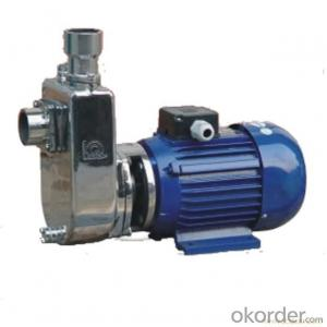 Self-Priming Sewage Pump ZW Series of High Quality