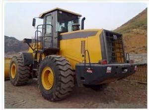 Wheel loader with bucket capacity  of  3 m3 model number LW500K