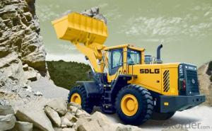 SDLG Brand Wheel Loader with 7ton Loading Capacity LG978