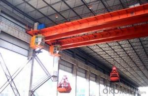 Wireless Remote Control Bulk Cargo Crane Grab Crane