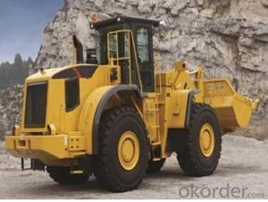 Wheel loader with bucket capacity  of 5.2 m3 model number CLG877III