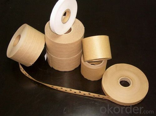 Kraft Paper Tape In Various Colors with Tower Shrink Package