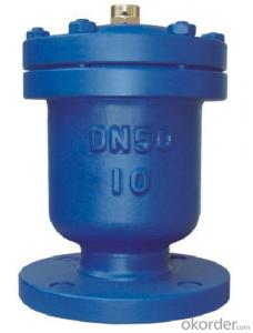 Air Evacuation Valve with Solar Water Heater Exhaust Valves /73mm