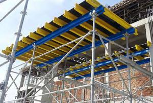 Timer Beam Flexible Application with Stand Alone Props Formwork