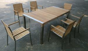 Outdoor Funiture Dining Set with 6 seater