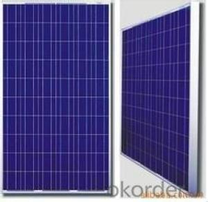 250watt Crystalline Solar Panels for Rooftop Systems