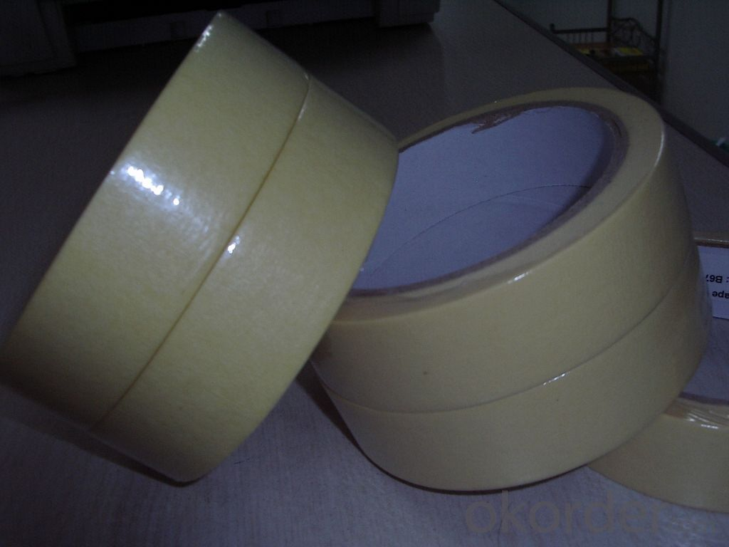Kraft Paper Tape of Natural Color in Shrinked Tower