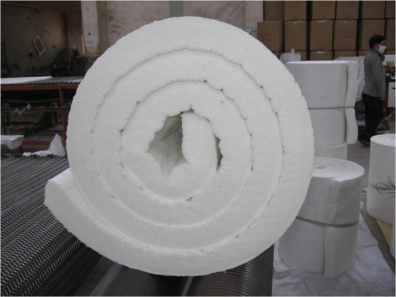 1260C Low Thermal Conductivity Ceramic Fiber Blanket for High Temperature Kiln