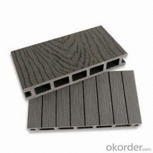 Hot Sell Traditional WPC Crack-Resistant Decking