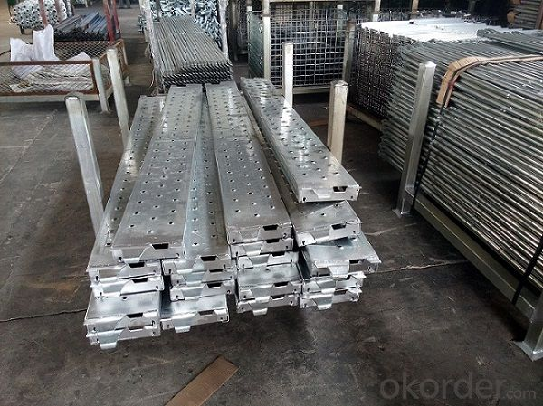 Galvanized Ringlock Steel Plank