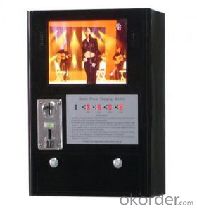 Public Cell Phone Charging Kiosk