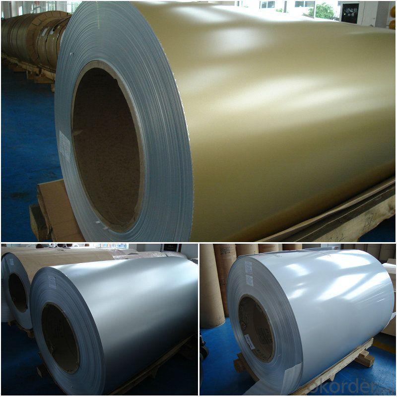 Color prepainted aluminum panel sheet 3105H44