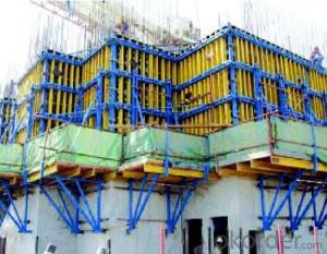 Timer Beam Formwork with No Assembling and Easy Operation
