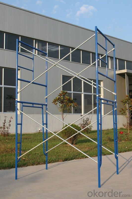 Buy Powder Coated Walk Through Frame Scaffolding For