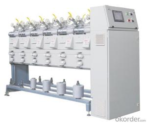 Large Package Textile Yarn Bobbin Winder Machinery