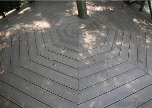 Wood Plastic Composite(WPC)Decking For Outdoor Using