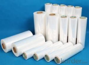 Stretch Wrap Film PE Stretch Plastic Wrap Film For Packaging and Protecting