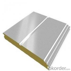 Sandwich Panel Price with Rockwool for Prefab House