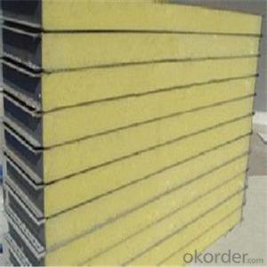 Rockwool Sandwich Panel with Color Steel Sheet