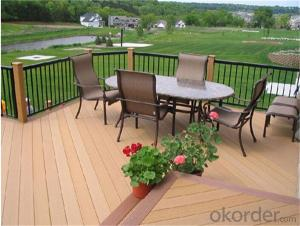 Ipe wood decking for outdoor made in China
