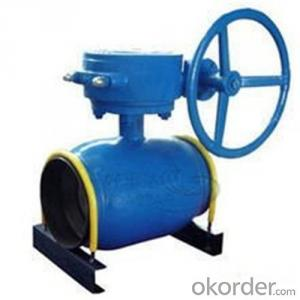 Ball Valve For Heating SupplyDN 150 mm  high-performance
