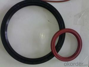 Wholesaling Automotive and Industrial Rubber Covered O.D VAQ TC Dual Lip Dustproof Plastic Oil Seals