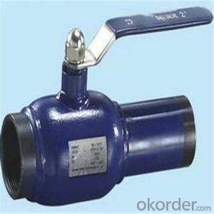 Ball Valve For Heating SupplyDN 125 mm high-performance