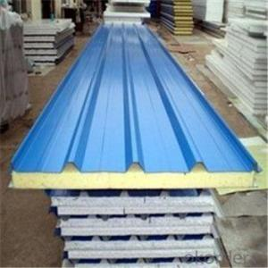 Polyurethane Foam Sandwich Panel EPS Construction Material