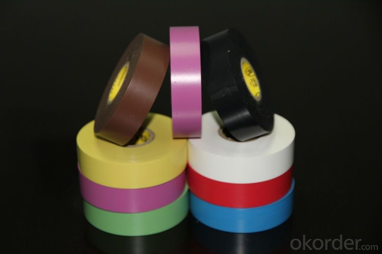 PVC Electrical Tape of 130 Micron Thickness