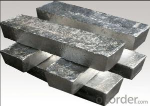 Metallic Magnesium Ingot With Low Price High Quality Mg>99.95%