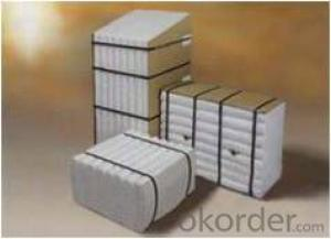 Ultra Pure Heat Insulation Ceramic Fiber Module DZ