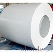 Prepainted steel coils Hot sale white color