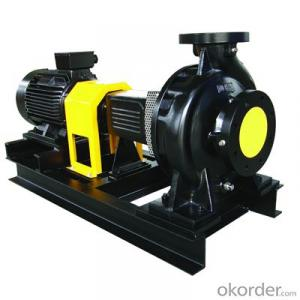 DIN Single Stage Single Suction End Suction Pump