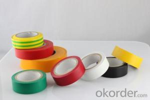 PVC Electrical Tape With 190 Mircon Thickness