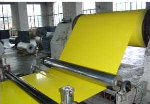 PPGI Color Coated Galvanized/Aluzinc Steel Coil Yellow Color