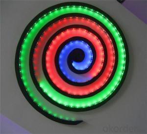 Multicolor Led Light Strip Double Sided Led Strip Light