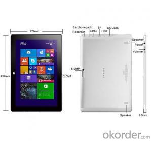 Windows 8.1 System Tablet PC 10.1 inch Intel Z3735 IPS Screen 1280*800 Bluetooth 4.0 HDMI 2GB+32GB