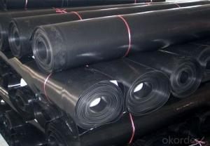 Needle Punched Nonwoven Geotextile for Filtration Function