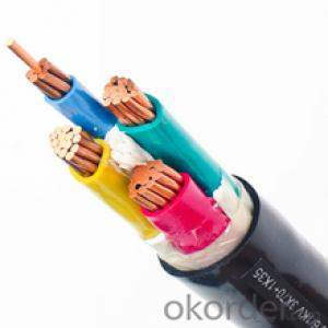 xlpe insulated power cable copper core low voltage xlpe cable