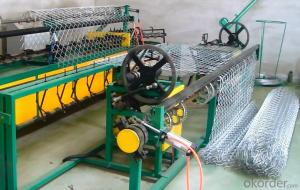 Double Wire Chain Link Fence Machine with ISO CE CO OEM