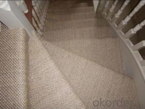 Different Shape customer-made sisal mat/carpet/rug