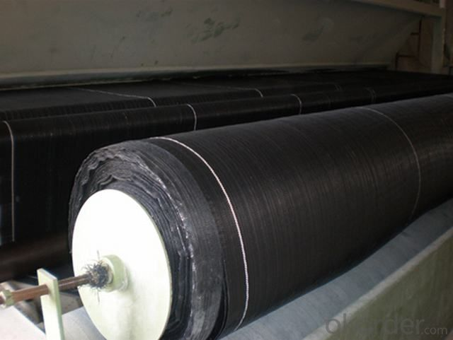 PP Woven Geotextile for Drainage Function