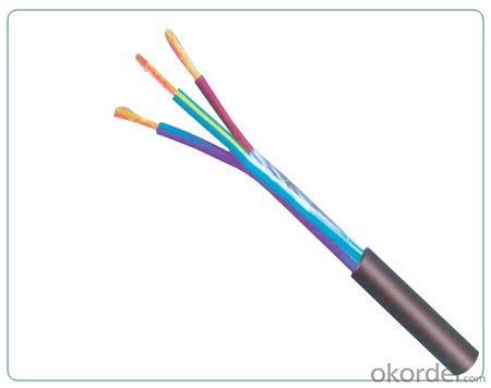 RVV-type 300/300W conductor PVC insulated and sheathed flexible cable