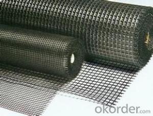Fiberglass Geogrid  Геосетк м50 Разрывная нагрузка, кН/м 30х30