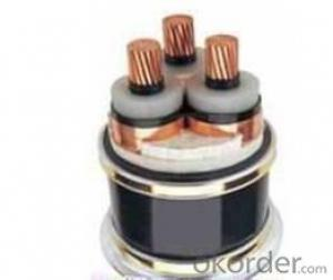 Underground Cable Steel Wire / type Armoured Copper Power cable