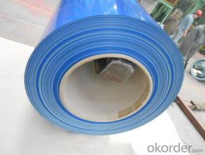 Pre-painted Galvanized/Aluzinc Steel Sheet Coil with Best Price in Blue color
