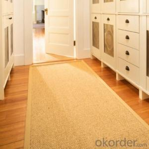 Home,Hotel,Bedroom,Decorative Use and Cut Pile Pattern Sisal carpet