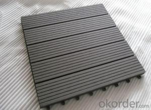 WPC Wood Plastic Composite Natural Colour Slip Resistance to Water  Low Maintenance